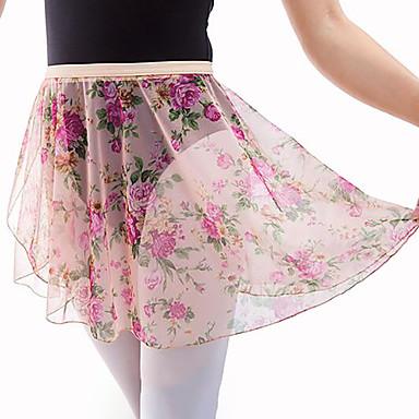 Ballett Unten Damen Leistung Tüll Muster / Druck Ärmellos Hoch Röcke