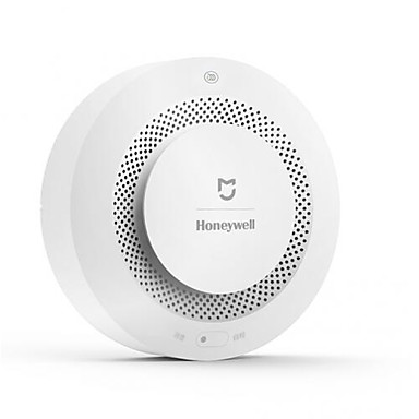Xiaomi Mijia Honeywell Fire Alarm Detector Audible Visual Smoke Sensor  Remote Mihome APP Smart Control for Wall