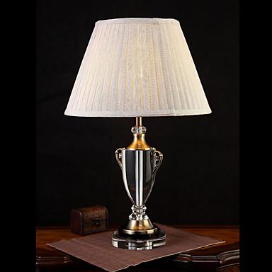 Artystyczny Ochrona oczu Lampa stołowa Na Kryształ 220V White