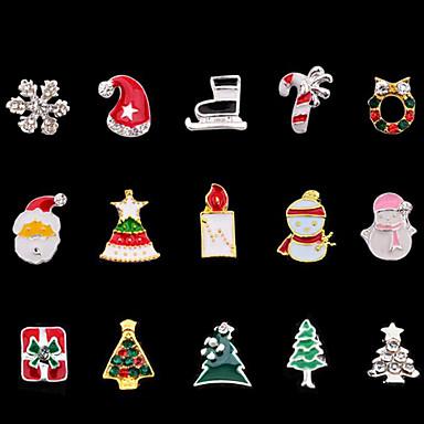 Zdobienia / Biżuteria do paznokci / Narzędzia DIY Nail Art Design Modny / Święta Bożego Narodzenia Codzienny
