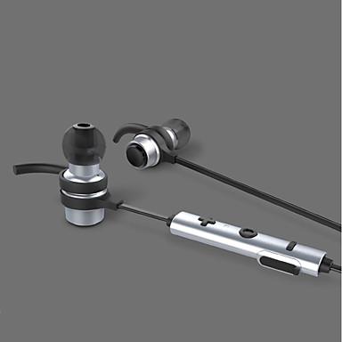 B16 W uchu Bezprzewodowy / a Słuchawki Dynamiczny Stop aluminium / Plastikowy Pro Audio Słuchawka Stereofoniczny / z mikrofonem / Z kontrolą głośności Zestaw słuchawkowy