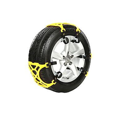 8ab7f508722 snekæder anti-skid nødsituation sne dæk kæder bil bælte stropper universal  passe nød anti-
