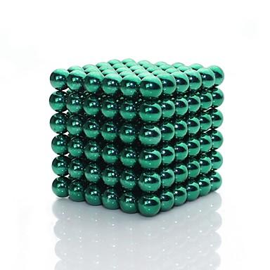 Zabawki magnetyczne Płytki magnetyczne Kulki magnetyczne Magnesy ziem rzadkich Gadżety antystresowe 216pcs 3mm קלאסי Błyszczące Figury