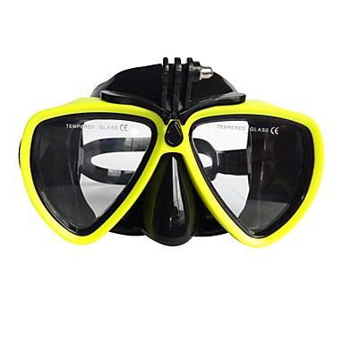 Gogle do pływania Maska do snorkelingu Anti-Fog Dzieci / Nastolatek Młodzieżowy Pływacki Nurkowanie Silicon Rubber PC Szkło hartowane