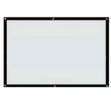 redgoldleaf®60inch 16: 9 maxwhite ścianę ekran zamontować