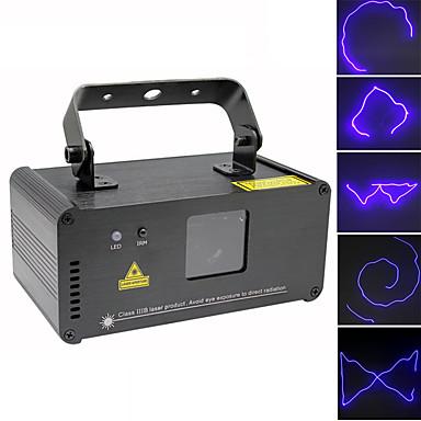 U'King Światło sceniczne laserowe DMX 512 Master-Slave Aktywowana Dźwiękiem Pilot zdalnego sterowania 15 na Klub Ślub Scena Impreza