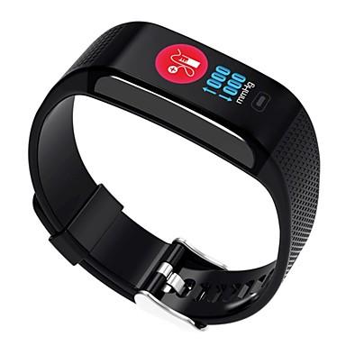 9d0824d6398 Relógio inteligente YY-CK18s para Android 4.4   iOS Medição de Pressão  Sanguínea   Calorias