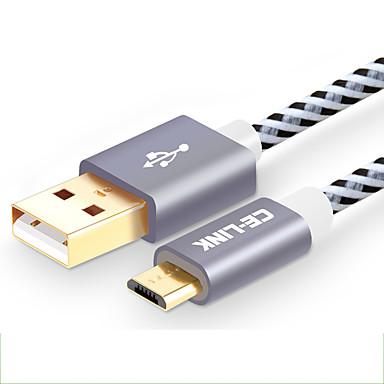 CE-Link USB 2.0 כבל, USB 2.0 to Micro USB 2.0 כבל זכר-נקבה 2.0M (6.5Ft)