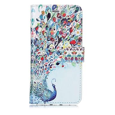 מגן עבור Apple iPhone X iPhone 8 מחזיק כרטיסים ארנק נפתח-נסגר מגנטי תבנית כיסוי מלא חיה קשיח עור PU ל iPhone X iPhone 8 Plus iPhone 8