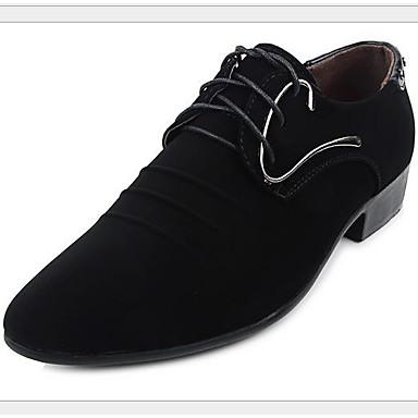 בגדי ריקוד גברים נעליים PU אביב נוחות נעלי אוקספורד שחור
