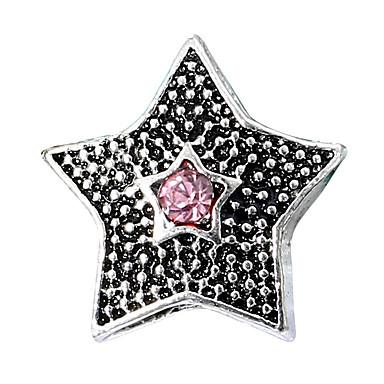 כוכב חרוזים תכשיטים DIY - אבן נוצצת אדום / כחול בהיר / כחול ים צמידים שרשראות