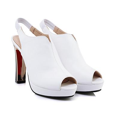 Blanc Printemps Mariage Evénement Femme Talon Rouge amp; Sandales Basique Noir Eté Microfibre 06516035 Escarpin Soirée Aiguille Chaussures zqTzAUB