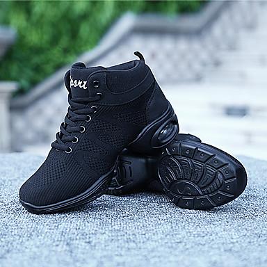 rond Talon Eté Plat Basket Polyuréthane Légères Noir Tulle Blanc Bout Printemps Confort Semelles Chaussures 06465578 Femme w7Tq4z