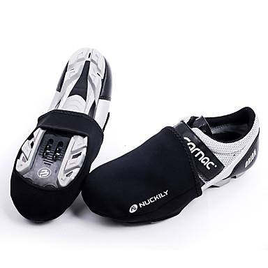 رخيصةأون أحذية ركوب الدراجة-Nuckily للبالغين أغطية أحذية الدراجة مقاوم للماء متنفس سريع جاف أخضر / الدراجة أسود رجالي أحذية الدراجة