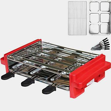 גריל ברביקיו חשמלי רב שימושי סגסוגת אלומיניום מגנזיום תרמי Cookers 220 V מכשיר מטבח