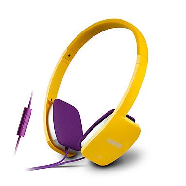 EDIFIER H640P רצועת ראש חוטי אוזניות דִינָמִי מתכת גיימינג אֹזְנִיָה עם מיקרופון אוזניות