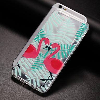 ケース 用途 Apple iPhone X iPhone 8 Plus iPhone 5ケース iPhone 6 iPhone 7 半透明 パターン バックカバー フラミンゴ ソフト TPU のために iPhone X iPhone 8 Plus iPhone 8