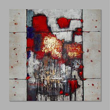 ציור שמן צבוע-Hang מצויר ביד - מופשט מודרני כלול מסגרת פנימית / בד מתוח