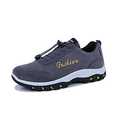 Férfi cipő Gumi Tavasz / Ősz Kényelmes Sportcipők Fekete / Szürke / Kék