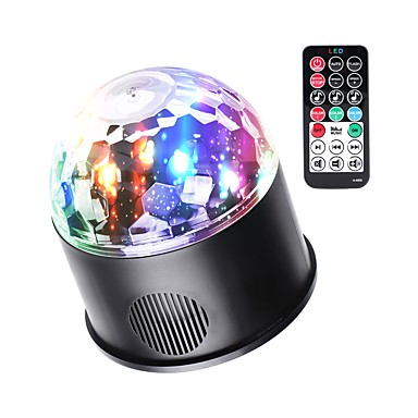 תאורת במה LED מופעל באמצעות הקול האוטומטי בלוטות' ל פסטיבל/חג מועדון בר במה מסיבה איכות גבוהה קל לנשיאה