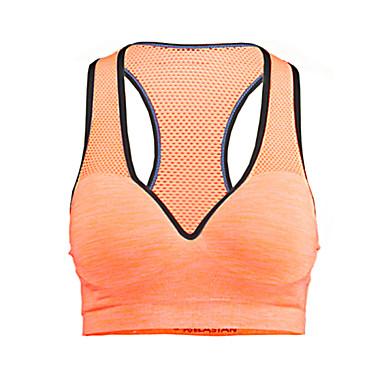 Γυναικεία Suport Medium Αθλητικά Σουτιέν Γρήγορο Στέγνωμα Διαπερατότητα Υγρασίας Αναπνέει Συμπίεση Αθλητικά Σουτιέν Μπολύζες για Γιόγκα