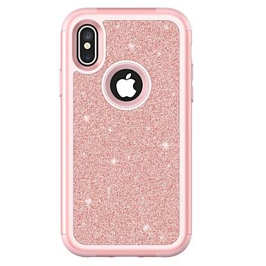 מגן עבור Apple iPhone X iPhone 8 Plus עמיד בזעזועים כיסוי מלא שִׁריוֹן קשיח TPU ל iPhone X iPhone 8 Plus iPhone 8 iPhone 7 Plus iPhone 7