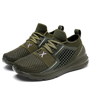 נעליים טול אביב קיץ נוחות נעלי ספורט ל קזו'אל בָּחוּץ לבן שחור ירוק צבא אדום