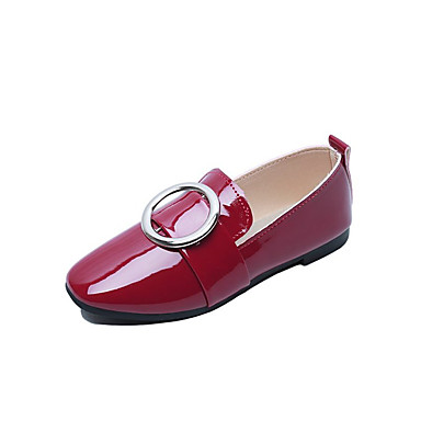 Women's Shoes PU Summer Light Soles Flats Walking Shoes Flat Heel Pointed Toe Flower for Casual White Black Red