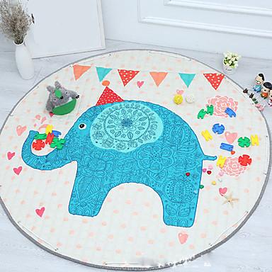 שטח שטיחים יום יומי פולי / כותנה, מעגלי איכות מעולה שָׁטִיחַ