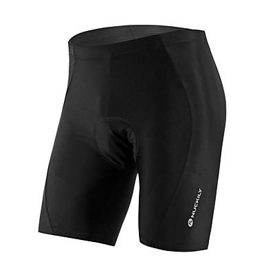 Nuckily Unisex Cycling Padded Shorts Bike Shorts / Jersey / Bottoms Anatomic Design, Ultraviolet Resistant, Breathable Solid Colored,
