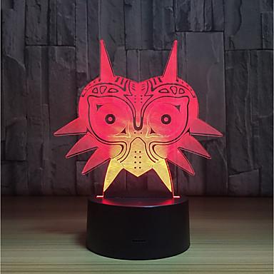 1set LED לילה אור לגעת 7-Color מופעל באמצעות USB גע בחיישן