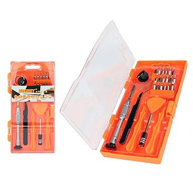 jakemy 8144 26 ב 1 כלי תיקון מקצועי עבור iPhone ferramentas מברג להגדיר סיביות מעוקל פינצטה פתיחת כלים Kit