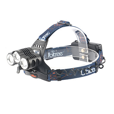 ANOWL LS1588 פנסי ראש LED 1800lm 4 מצב תאורה נייד / מקצועי מחנאות / צעידות / טיולי מערות / שימוש יומיומי / צלילה / שייט שחור