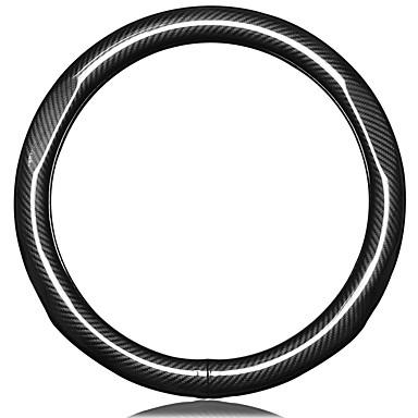 Ohjauspyörän suojukset aitoa nahkaa 38cm Musta Käyttötarkoitus Volkswagen Bora / Tiguan / Passat Kaikki vuodet