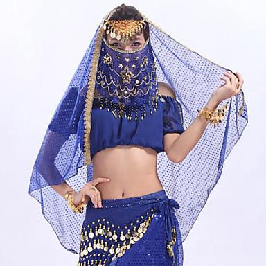 ריקוד בטן רגיל בגדי ריקוד נשים הדרכה טול MiniSpot רעלה
