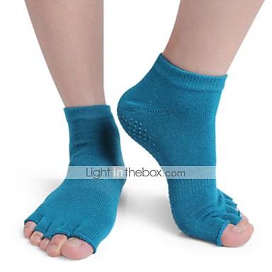 Dame Tå Sokker / Yoga Socks Pustende, Anvendelig, Anti-Skride Til Ballett / Pilates / Dans - 1 par Mote Vår / Sommer / Høst / Vinter