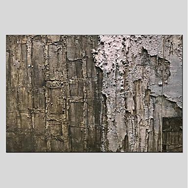 ציור שמן צבוע-Hang מצויר ביד - מופשט מודרני בַּד