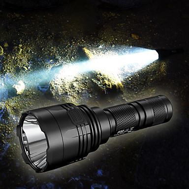 Nitecore P30 LED Flashlights LED CREE® XP-L HI V3 1 بواعث 1000 lm 8.0 إضاءة الوضع مقاوم للماء محمول Impact Resistant Camping / Hiking / Caving الصيد أسود