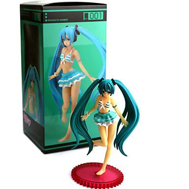 נתוני פעילות אנימה קיבל השראה מ Vocaloid PVC 13 CM צעצועי דגם בובת צעצוע