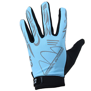 KORAMAN Activități/ Mănuși de sport Mănuși pentru ciclism / Mănuși Touch Respirabil / Anti-derapare Deget Întreg Nailon Ciclism / Bicicletă Bărbați / Pentru femei