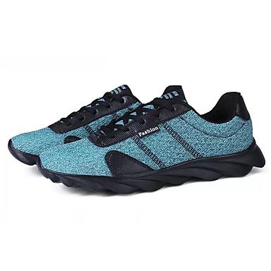 בגדי ריקוד גברים טול אביב / סתיו נוחות נעלי אתלטיקה ריצה כתום / אפור / כחול