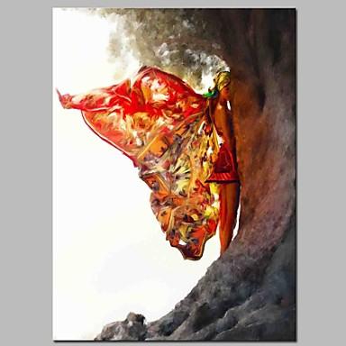 ציור שמן צבוע-Hang מצויר ביד - אנשים קלסי בַּד