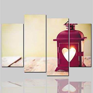 הדפסת בד קלסי מודרני, ארבעה פנלים בַּד אופקי דפוס דקור קיר קישוט הבית