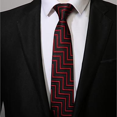 עניבת צווארון - פסים עבודה / יום יומי בגדי ריקוד גברים