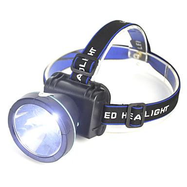رخيصةأون المصابيح اليدوية وفوانيس الإضاءة للتخييم-مصابيح أمامية كشافات الأشرطة أضواء السلامة LED LED بواعث 2000 lm 1 إضاءة الوضع Camping / Hiking / Caving Everyday Use أخضر أصفر اللون لمصدر اللمبة