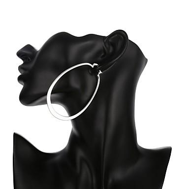 voordelige Oorbellen-Dames Druppel oorbellen Verzilverd oorbellen Dames Standaard Sieraden Zilver Voor Dagelijks Toimisto & ura