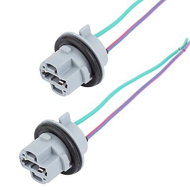 preiswerte Relais & Leitungen-7440 Fahrzeugscheinwerfer-Lampenfassung-Kabelsatz für Kabellicht