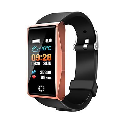 חכמים שעונים Mate1 ל Android iOS Blootooth בלותוט' עמיד במים גע בחיישן מד צעדים בקרת APP Tracker דופק מד צעדים מזכיר שיחות מד פעילות / מעקב שינה / תזכורת בישיבה / Alarm Clock / חיישן אצבע / 120-150