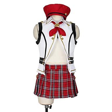 Zainspirowany przez God Eater Cosplay Anime Kostiumy cosplay Garnitury cosplay Inne Bez rękawów Top / Spódnica / Więcej akcesoriów Na Męskie / Damskie Kostiumy na Halloween