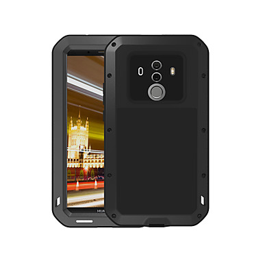 מגן עבור Huawei Mate 10 pro מוגן מים / עפר / הלם כיסוי מלא אחיד קשיח מתכת ל Mate 10 pro